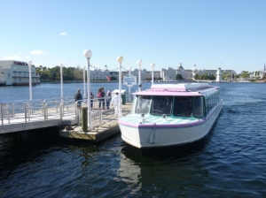 EPCOT Resort Friendship Boat